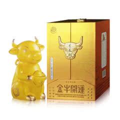 汾酒杏花村酒生肖文化酒金牛开运55度1.5L礼盒装新品清香型白酒