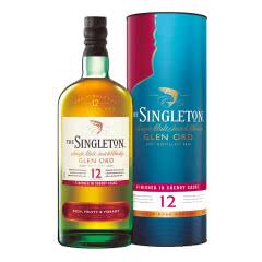 40°英国苏格登12年单一麦芽苏格兰威士忌雪莉版700ml