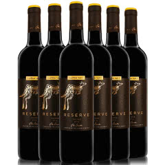 黄尾袋鼠红酒 澳洲进口红酒整箱 黄尾袋鼠珍藏系列葡萄酒750ML*6 黄尾袋鼠珍藏西拉