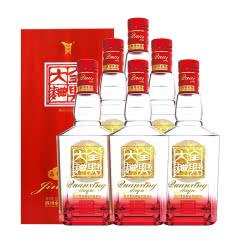 52°全兴 全兴大曲晶彩红白酒 浓香型白酒整箱装500ml*6瓶