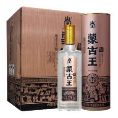 蒙古王52度金桶500ml*6瓶整箱浓香型内蒙古草原特产白酒
