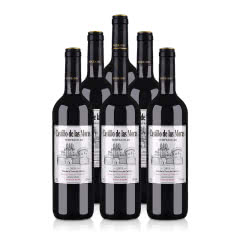 西班牙(原瓶进口)莫拉斯城堡干红葡萄酒750ml(6瓶装)