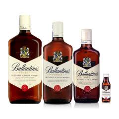 40°英国百龄坛特醇苏格兰威士忌50ml+500ml+700ml+1000ml(集合)