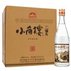 52° 小角楼白酒纯粮浓香型二锅头川酒 500ml 6瓶整箱装