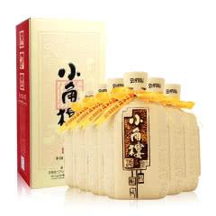 52°四川小角楼1958浓香型白酒高度酒瓦罐瓶装500ml*6