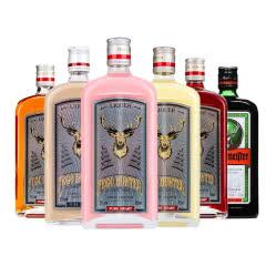 野格+5种哈古雷斯利口酒力娇酒 狩猎者鹿头配制酒果味酒女士微醺洋酒 700ml