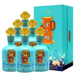 50度金六福陈坛15 浓香型高度白酒 宴客礼送用酒 500ml*6瓶