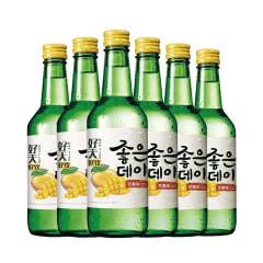 12.5度韩国原瓶进口好天好饮烧酒芒果味360ml(6瓶)
