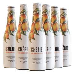 3.5度比利时原瓶进口奢莉桃子味330ml(6瓶)
