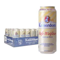 德国原瓶进口凯撒顿姆白啤精酿啤酒500ml(24罐)