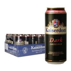德国进口凯撒顿姆黑啤酒500ml(24听)
