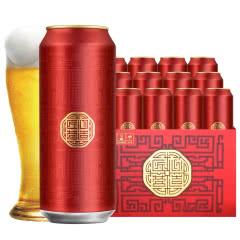 雪花啤酒10度匠心营造啤酒 500ml*12听易拉罐装整箱啤酒麦芽