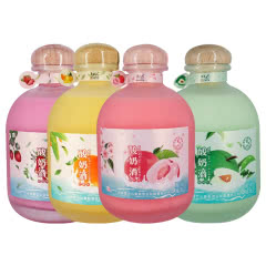 雪兰山低度酸奶酒果酒颜值酒草莓/芒果/蜜桃/青梅味四种口味共4瓶