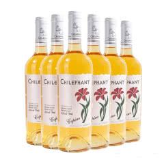 智象 甜白葡萄酒智利原瓶进口红铃兰莫斯卡托 750ml*6