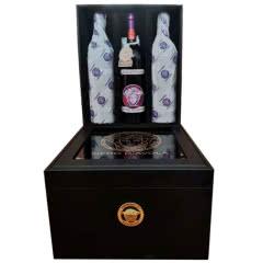 意大利詹妮范思哲原装原瓶进口红葡萄酒750ml*6整箱礼盒装