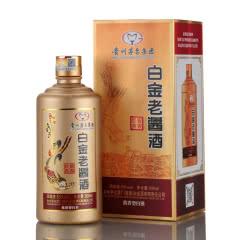 53° 白金老酱酒 酱香经典 贵州茅台集团白金酒公司 酱香型白酒单瓶装500ml