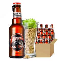 舒马赫啤酒经典优级小麦黄啤 229ml*24瓶整箱