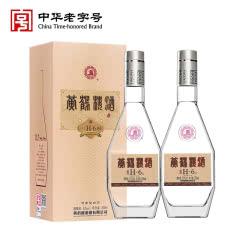 【酒厂直营】黄鹤楼经典H6清香型白酒 53度500ml*2瓶