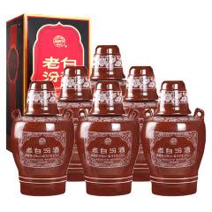 53°10年老白汾酒475ml 坛汾 (6瓶装)