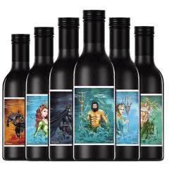 爱龙堡网红迷你小瓶果味酒白葡萄甜酒187ml*6瓶礼盒装