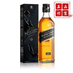 40°英国(Johnnie Walker)尊尼获加黑牌黑方威士忌进口洋酒375ml