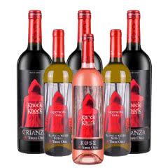 【网红超值组合】13°奥兰西班牙原瓶进口陈酿DO级干红750ml*3瓶+干白2瓶+桃红1瓶