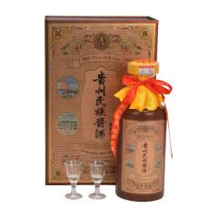 (买一送一)53°酱香型 贵州民族酱酒 御藏 500ml单瓶装