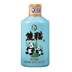 53°煮仙 小熊猫酒 酱香型白酒 贵州茅台镇 纯粮食高粱酒 小酒版125ml单瓶
